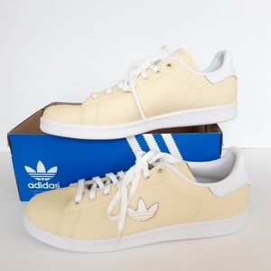 Adidas Originals Stan Smith Yellow Shoes 12 NWT